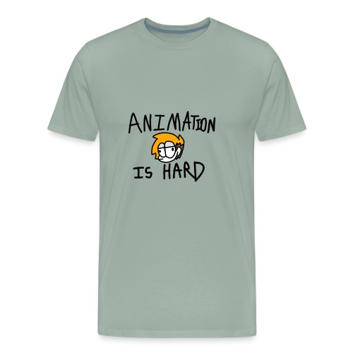 animation is hard - Men's Premium T-Shirt