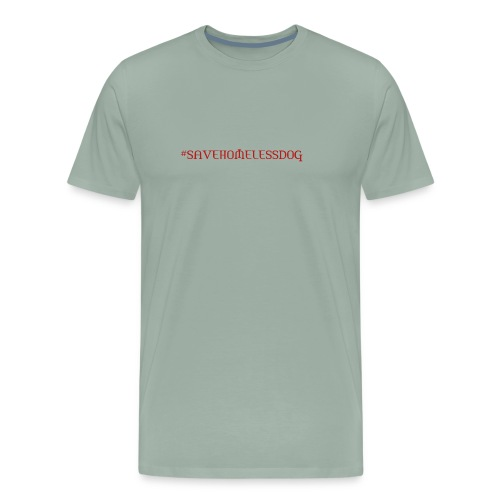 savehomeless dog - Men's Premium T-Shirt