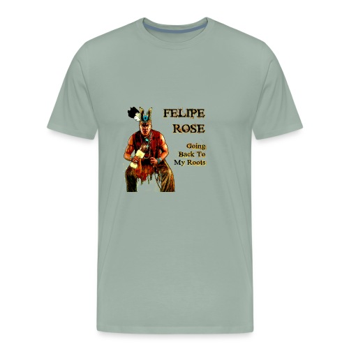 Going Back to my Roots - Men's Premium T-Shirt