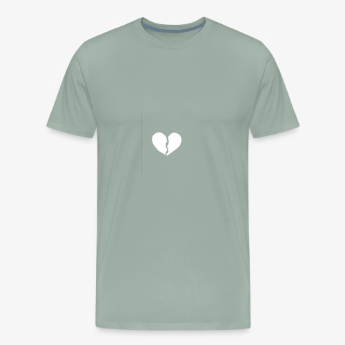 XXVSociety | Heart Broken - Men's Premium T-Shirt