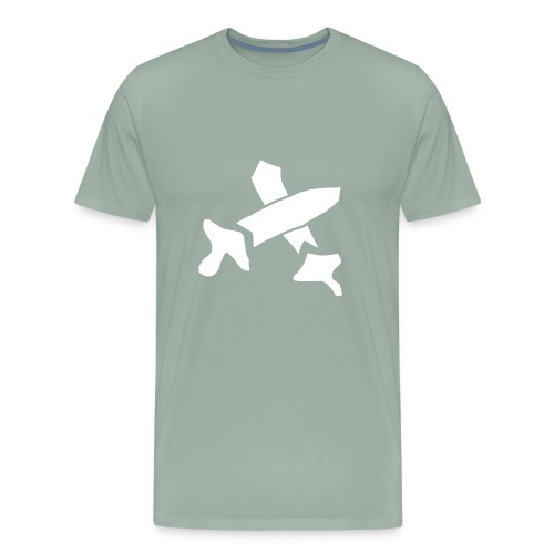 White Swords - Men's Premium T-Shirt