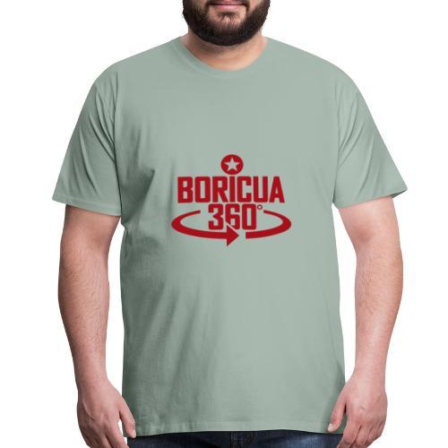 Boricua 360 red - Men's Premium T-Shirt