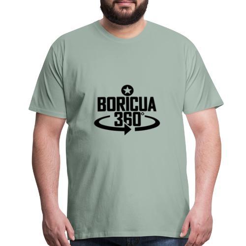 Boricua 360 black - Men's Premium T-Shirt
