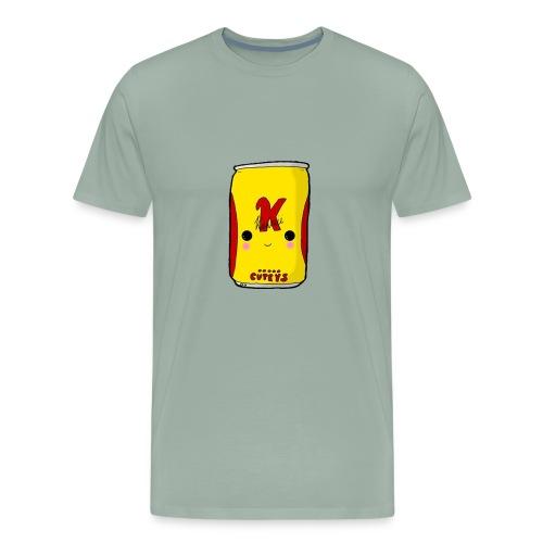 Kawaii Cute Tennants Lager Can - Men's Premium T-Shirt