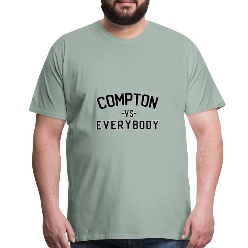 Compton vs Everybody shirt - Men's Premium T-Shirt