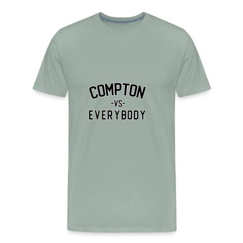 Compton vs Everybody shirt - Men's Premium T-Shirt