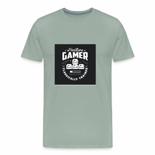 Hardcore Gamer Black - Men's Premium T-Shirt