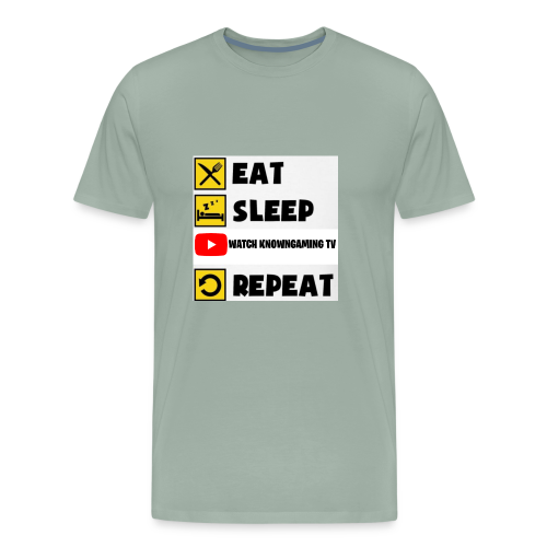 Eat. Sleep. Watch Me. Repeat. - Men's Premium T-Shirt