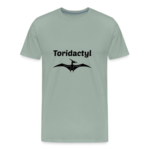 Tori Davis Black Toridactyl Merch Design - Men's Premium T-Shirt
