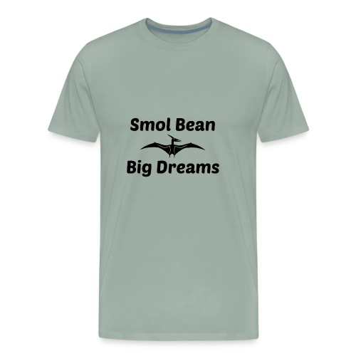 Tori Davis Smol Bean Big Dreams Black Merch Design - Men's Premium T-Shirt