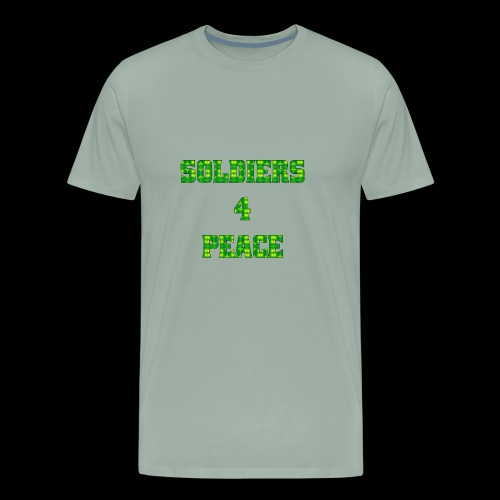 005b Soldiers4Peace - Men's Premium T-Shirt