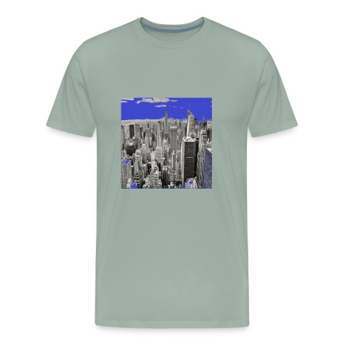 New York the most beautiful city in the world - Men's Premium T-Shirt
