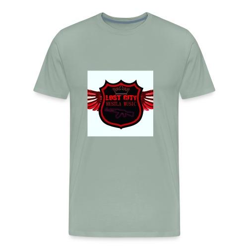Hustle logo - Men's Premium T-Shirt