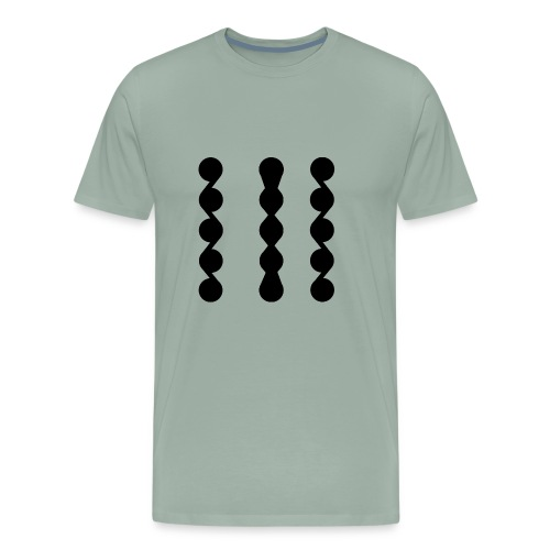 ASYMMETRICAL - Men's Premium T-Shirt