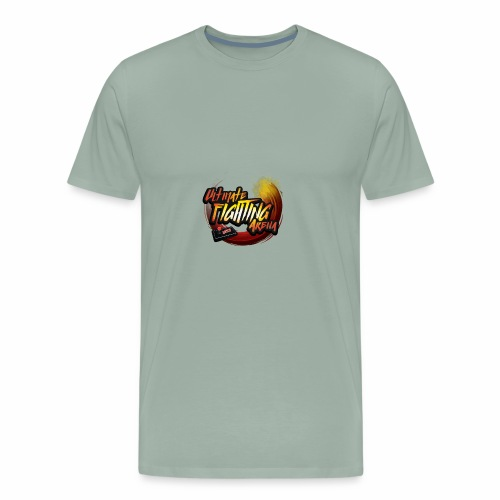LOGO UFA2018 V2 CLEAR - Men's Premium T-Shirt