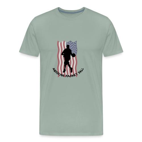 American Basket Ball - Men's Premium T-Shirt