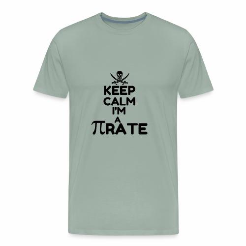 KEEP CALM I M A PIRATE6 - Men's Premium T-Shirt