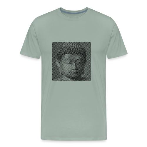 The Face of Buddha - Men's Premium T-Shirt