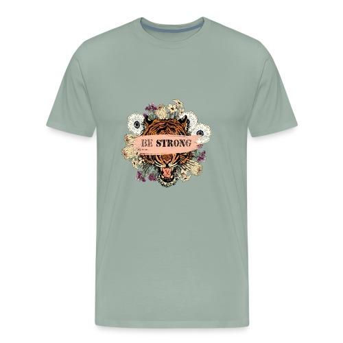 BE STRONGer (woman .man. kid) - Men's Premium T-Shirt