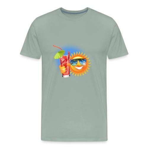 Summer Sun - Men's Premium T-Shirt
