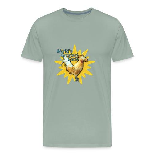 World's Greatest Cock Shirt - Men's Premium T-Shirt