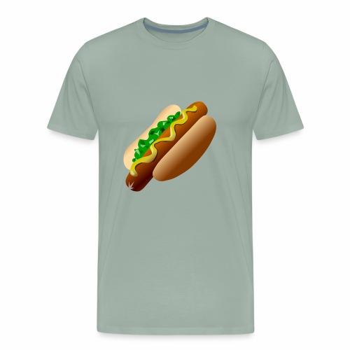Just a Hot Dog Shirt - Men's Premium T-Shirt