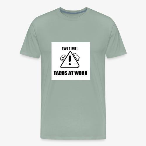 Tacos At Work - Men's Premium T-Shirt