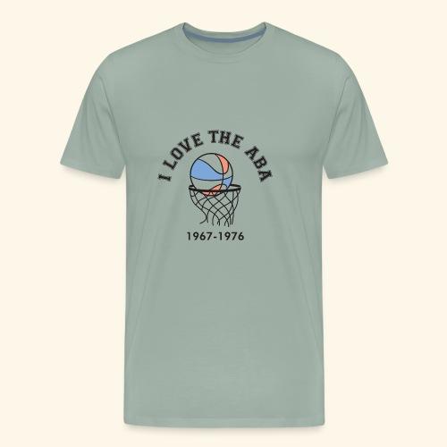 I Love the ABA - Men's Premium T-Shirt