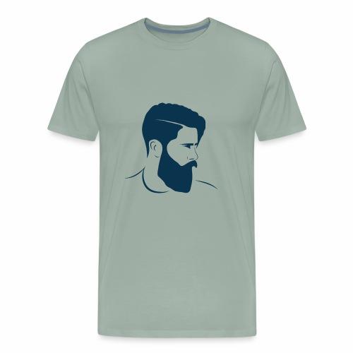 hairstyle - Men's Premium T-Shirt