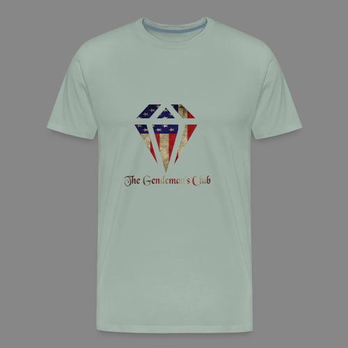 The Gentleman's American Flag - Men's Premium T-Shirt