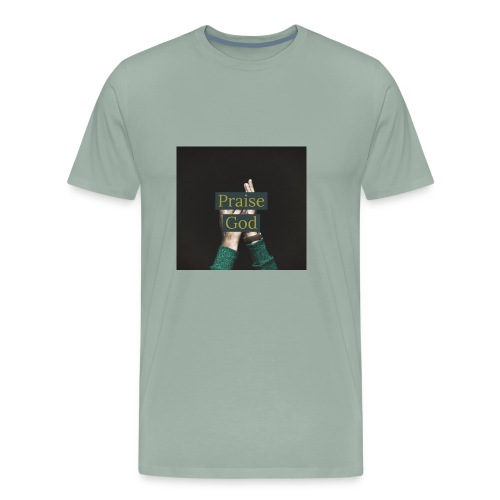 praise God - Men's Premium T-Shirt