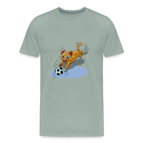 cat cute t-shirt - Men's Premium T-Shirt