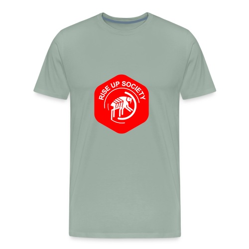 Rise Up Society Logo - Men's Premium T-Shirt
