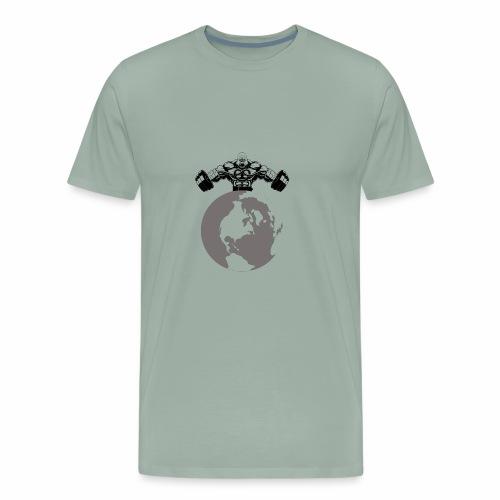 Muscle World - Men's Premium T-Shirt
