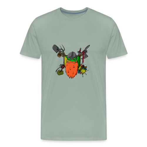 DodBeard - Men's Premium T-Shirt