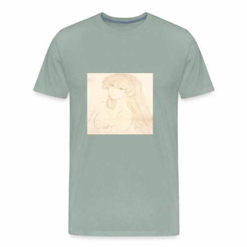 Sassy anime - Men's Premium T-Shirt