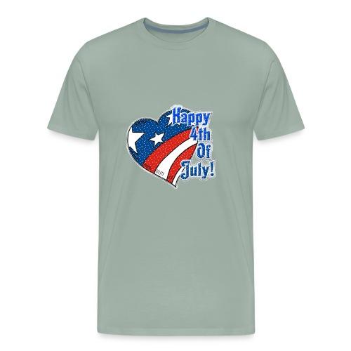 shirt happy 4th of july - Men's Premium T-Shirt