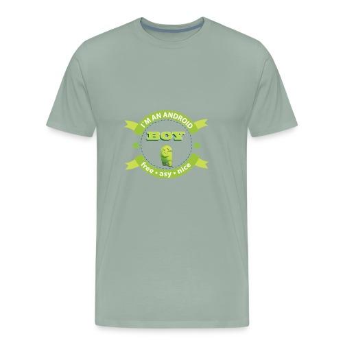 Android Man - Men's Premium T-Shirt