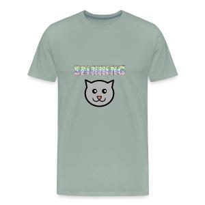 Spinning Cat - Men's Premium T-Shirt