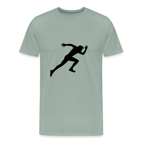 hurry up runner - Men's Premium T-Shirt