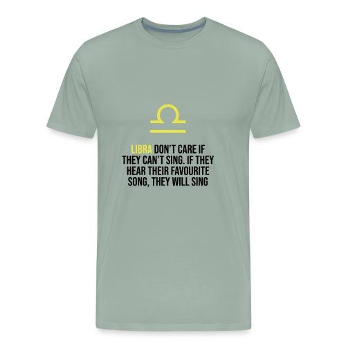 Zodiac. Libra. Horoscope. Birthday Gift - Men's Premium T-Shirt