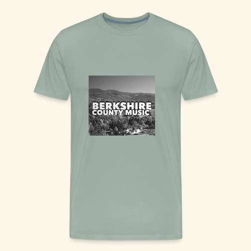 Berkshire County Music Black/White - Men's Premium T-Shirt