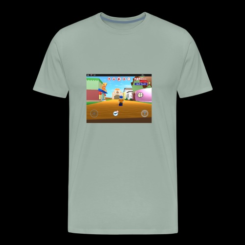 Roblox meep city - Men's Premium T-Shirt