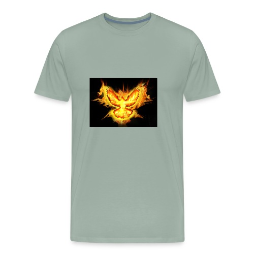 fire blaze cup - Men's Premium T-Shirt