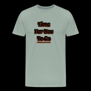 Time 4U 2 Go - Black Series - Men's Premium T-Shirt