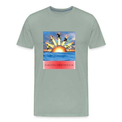 NACION DEPORTIVA - Men's Premium T-Shirt