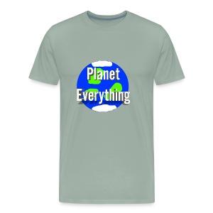 Planet Circle logo merchandise - Men's Premium T-Shirt