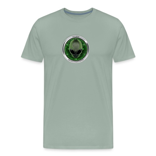 New Alien Investigations Head Logo - Men's Premium T-Shirt