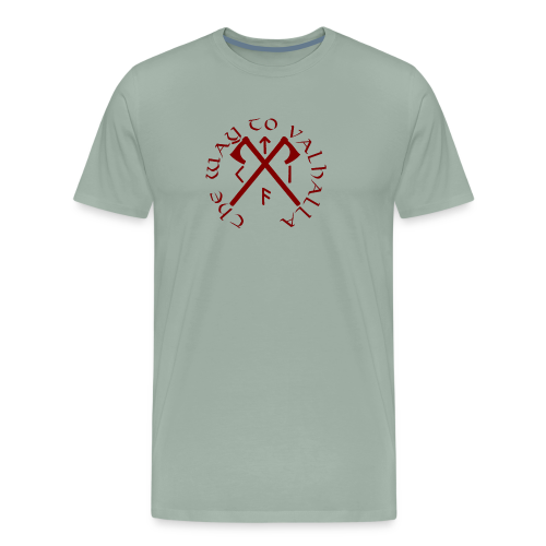The Way To Valhalla - Men's Premium T-Shirt