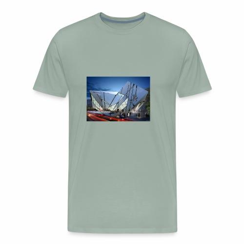 1014 4 1000 libeskind 4 - Men's Premium T-Shirt